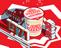 How Oodles Of Cup Noodles Took Over The World