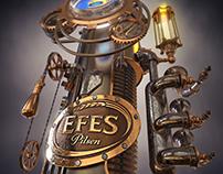 Efes Beer Tower // Steampunk