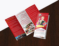 School brochure letter head Email letter design