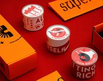 COFFEE BEAN PACKAGE 上牛社会·新年礼盒装   罐的·精品咖啡豆   包装设计