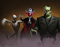 Classic Hollywood Monsters: Character Design