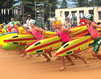 Bondi Race Trainers - Photoshop