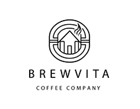 Brewvita Coffee Company Concept Branding