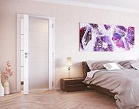 Interiors - 3D visualizations