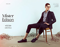 Mister Edison for Caleo Magazine