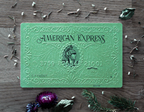 American Express card art