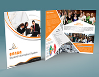 Free bi-fold brochure psd