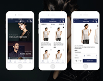 iOS Mobile Shopping App