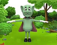 ''Çevki'' 3D character model