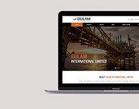 Dulam International - WEBSITE DEVELOPMENT