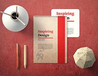 Notebook Cover Mockup Set