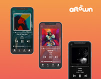 Aftown Mobile App Concept