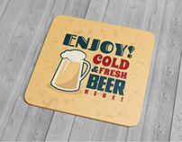 Drink Coaster Mock-Up