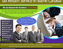 Tax Return Service in Barrie Canada | 8559107234 | rcfi