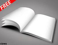 Exciting Free Magazine Mockup (FREE)