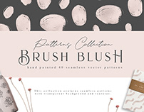 Brush Blush Pattern Collection