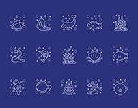 Ocean Vector Icons