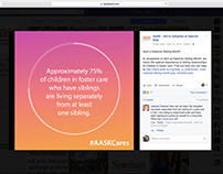 Aid to Adoption of Special Kids | Social Media Design