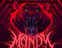 Mandy Tiger Poster (AMP)