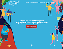 Istanbul Cocktail Festival Landing Page