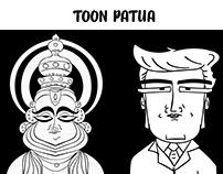 TOON BENGAL PATUA - A cartoon version of Bengal Patua