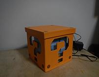 Embalagem - Luminária Super Mario Bros / cubo / box /