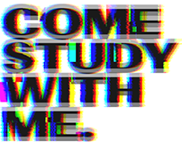 Come study with me