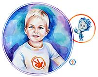 Children portrait Dima