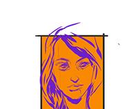 Portraits drawn on iPad & Adobe Draw by JasonScottJones