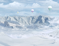 Matte Painting Winter Trip! (Personal Project)