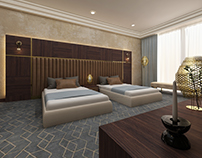 Double bedroom hotel