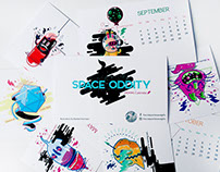 Space Oddity - 2016 Calendar