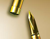 'Sheaffer' pen illustration logos