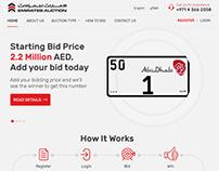 Emirates Auction Web UI