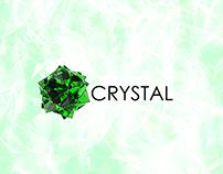 Crystal mockup