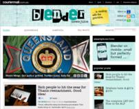 Blender - Gawker-style news blog