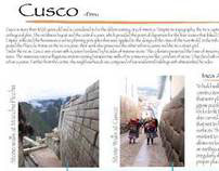 Cuzco City Study