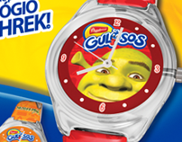 """Promotional Campaign """"É hora de Shrek Bauducco"""""""