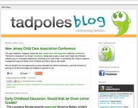 Tadpoles Blog Redesign