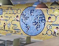 Relativity Office Walls