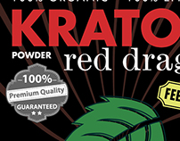 Kratom Package Design