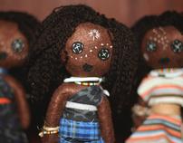 African Rag dolls