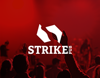 Strike Pub - Naming, Branding, Intranet & Stationery