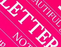 """Karlsen Serif """"Pro"""" – typeface design"""