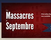 September Massacres Landing Page