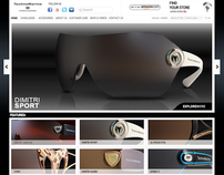 Technomarine Eyewear Website
