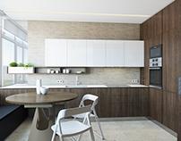 #003 - Kitchen & Livingroom