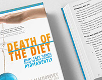 Death of the Diet Cover and Layout Design