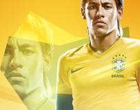 Neymar / Pato ;; Brasil