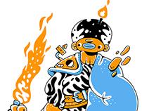 Fire shaman